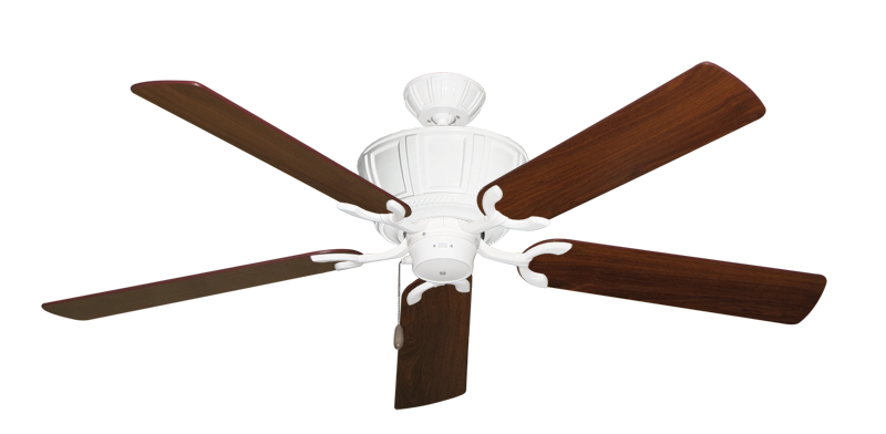 """Picture of Centurion Pure White with 56"""" Walnut Blades"""