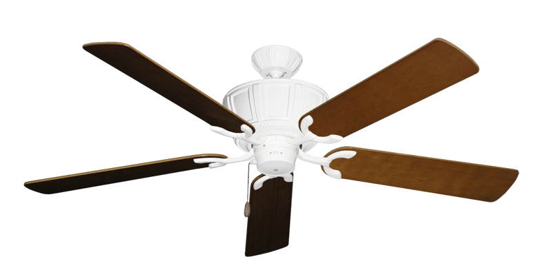 """Picture of Centurion Pure White with 56"""" Natural Cherry Blades"""