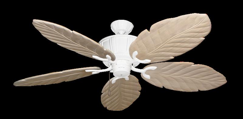 "Centurion Pure White with 58"" Series 100 Arbor Whitewash Blades"