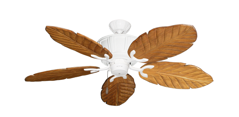 """Picture of Centurion Pure White with 52"""" Series 125 Arbor Oak Blades"""
