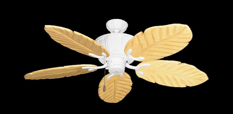 "Centurion Pure White with 52"" Series 125 Arbor Maple Blades"