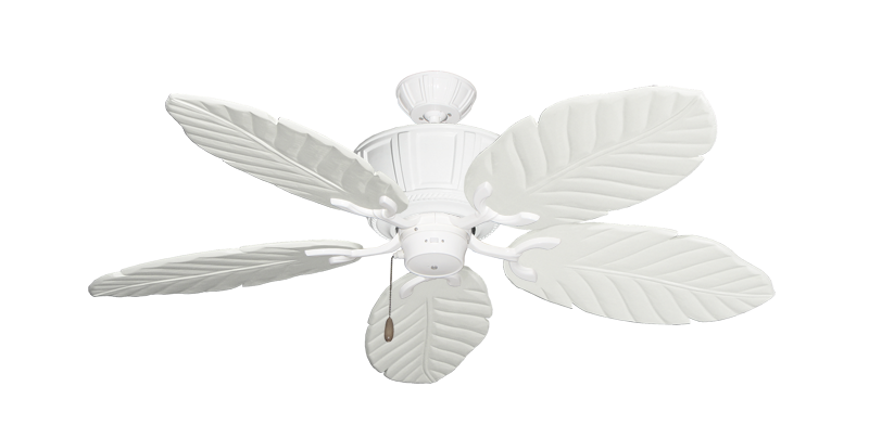 """Picture of Centurion Pure White with 52"""" Series 125 Arbor Pure White Blades"""