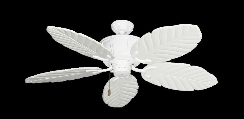 "Centurion Pure White with 52"" Series 125 Arbor Pure White Blades"