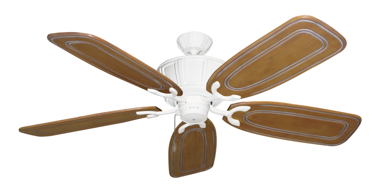 "Picture of Centurion Pure White with 58"" Series 800 Arbor Pecan Blades"