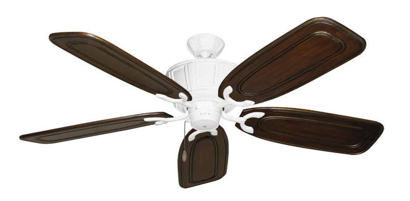 """Picture of Centurion Pure White with 58"""" Series 800 Arbor Chestnut Blades"""