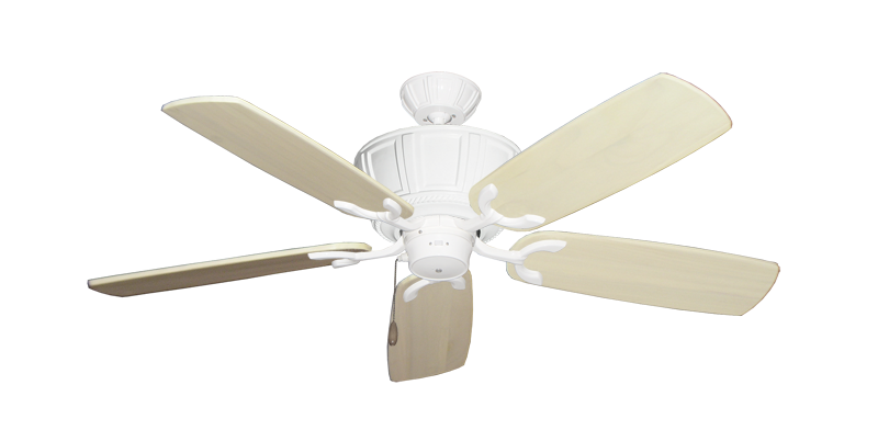 "Picture of Centurion Pure White with 52"" Series 425 Arbor Whitewash Blades"
