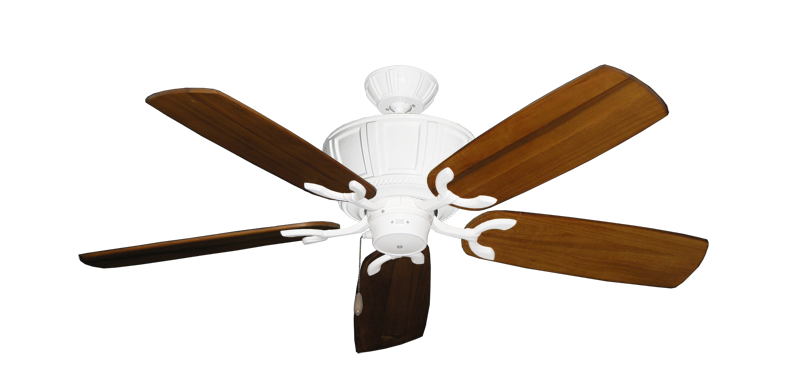 "Picture of Centurion Pure White with 52"" Series 425 Arbor Oak Blades"