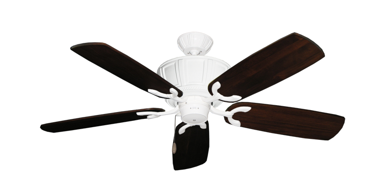 """Picture of Centurion Pure White with 52"""" Series 425 Arbor Cherrywood Blades"""