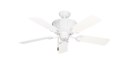 "Picture of Centurion Pure White with 44"" Outdoor Pure White Blades"