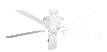 "Picture of Centurion Pure White with 60"" Outdoor Pure White Blades"