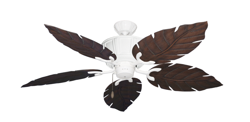 """Centurion Pure White with 52"""" Venetian Oil Rubbed Bronze Blades"""