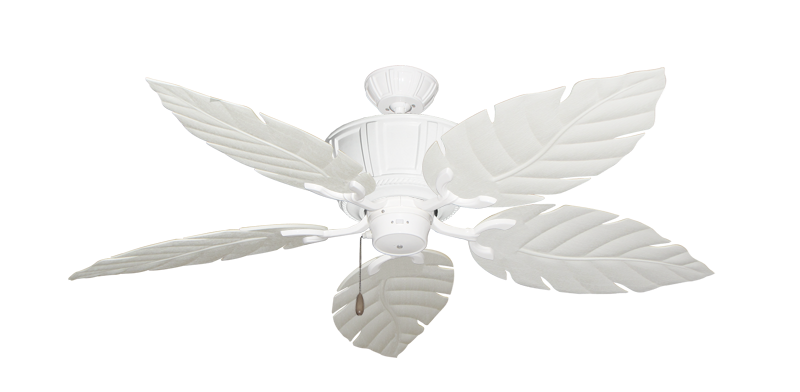 """Picture of Centurion Pure White with 52"""" Venetian Pure White Blades"""