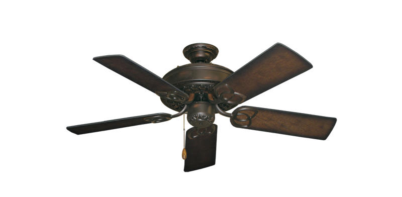 "Picture of Renaissance Oil Rubbed Bronze with 44"" Distressed Hickory Blades"