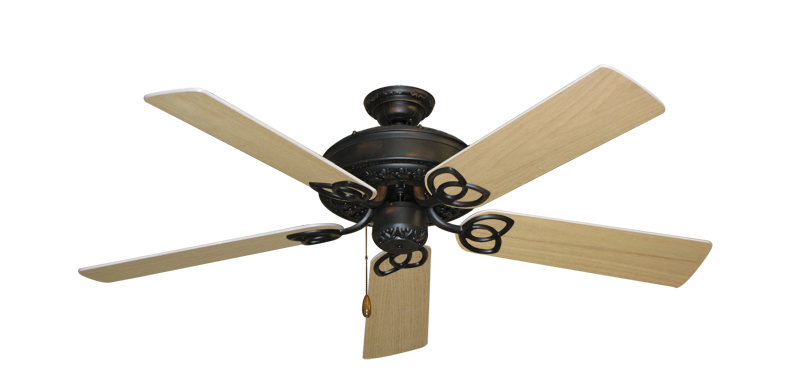 "Picture of Renaissance Oil Rubbed Bronze with 52"" UnMotor Finished Oak Blades"