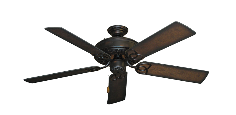 "Picture of Renaissance Oil Rubbed Bronze with 52"" Distressed Hickory Blades"
