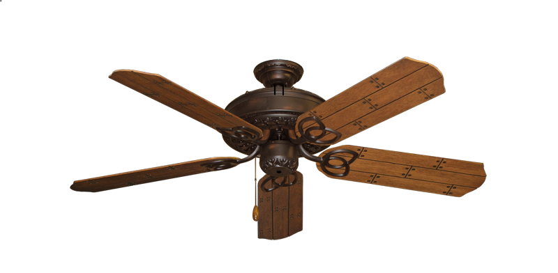 """Picture of Renaissance Oil Rubbed Bronze with 52"""" Cherry Plank Blades"""