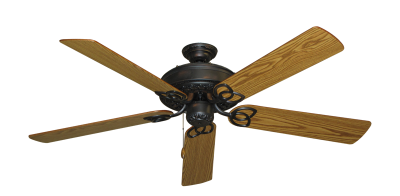 """Picture of Renaissance Oil Rubbed Bronze with 56"""" Oak Blades"""