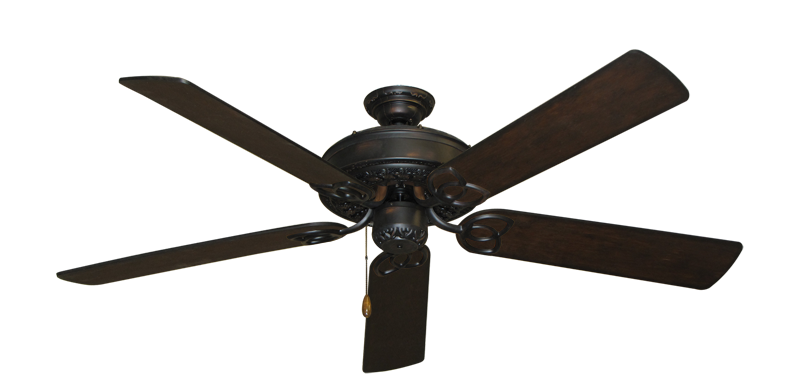 "Picture of Renaissance Oil Rubbed Bronze with 56"" Distressed Walnut Blades"