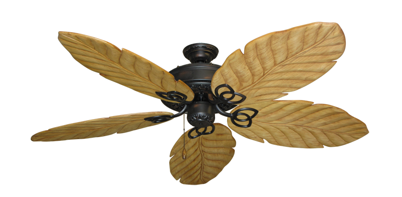 "Picture of Renaissance Oil Rubbed Bronze with 58"" Series 100 Arbor Maple Blades"