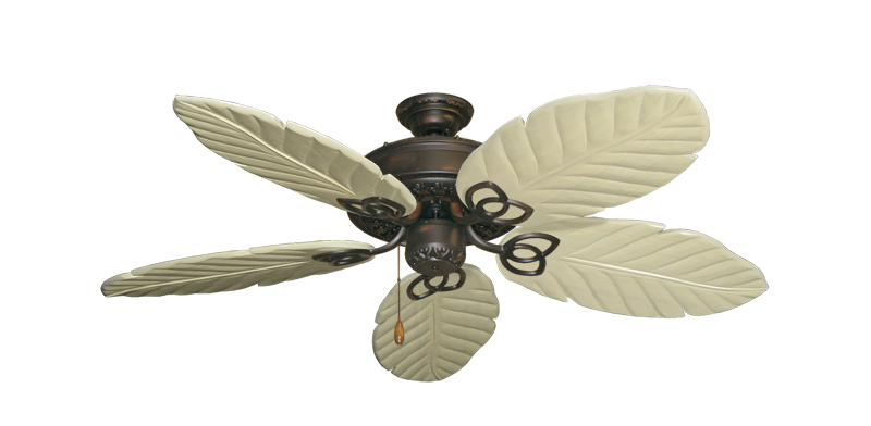 """Picture of Renaissance Oil Rubbed Bronze with 52"""" Series 125 Arbor Whitewash Blades"""