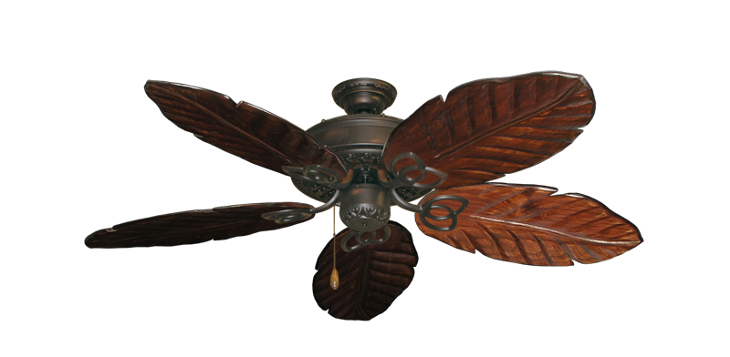 "Picture of Renaissance Oil Rubbed Bronze with 52"" Series 125 Arbor Cherrywood Blades"
