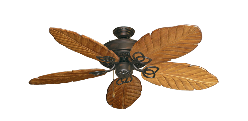 "Picture of Renaissance Oil Rubbed Bronze with 52"" Series 125 Arbor Oak Blades"