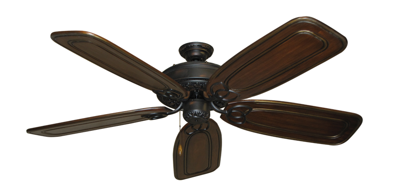 "Picture of Renaissance Oil Rubbed Bronze with 58"" Series 800 Arbor Chestnut Blades"