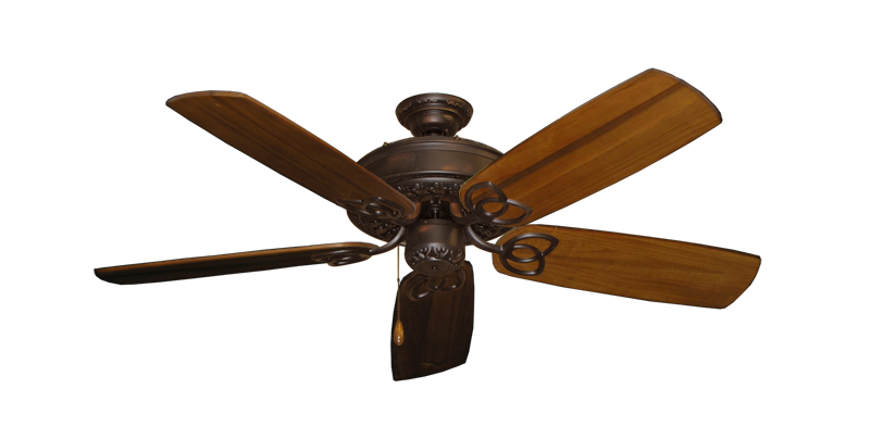 """Picture of Renaissance Oil Rubbed Bronze with 52"""" Series 425 Arbor Oak Blades"""