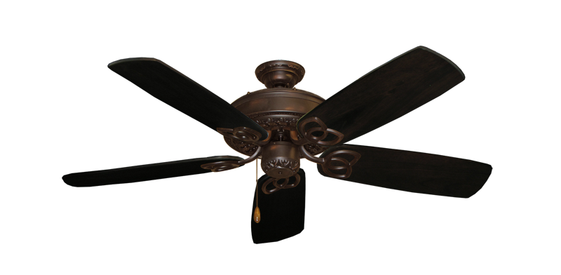 "Picture of Renaissance Oil Rubbed Bronze with 52"" Series 425 Arbor Dark Walnut Blades"