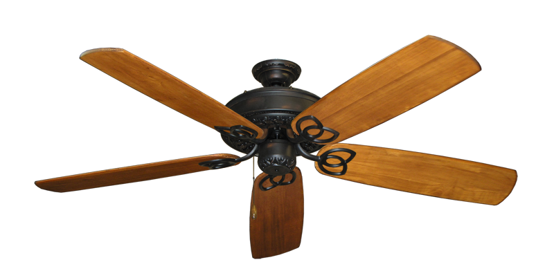 "Picture of Renaissance Oil Rubbed Bronze with 60"" Series 450 Arbor Oak Blades"