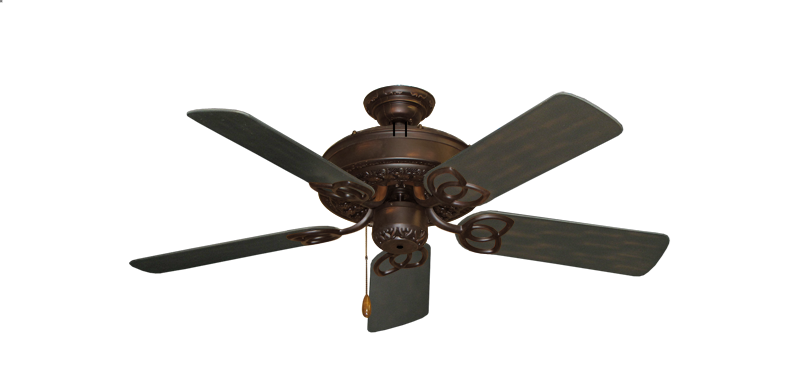 """Picture of Renaissance Oil Rubbed Bronze with 44"""" Outdoor Oil Rubbed Bronze Blades"""