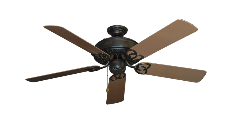 "Picture of Renaissance Oil Rubbed Bronze with 52"" Outdoor Brown Blades"