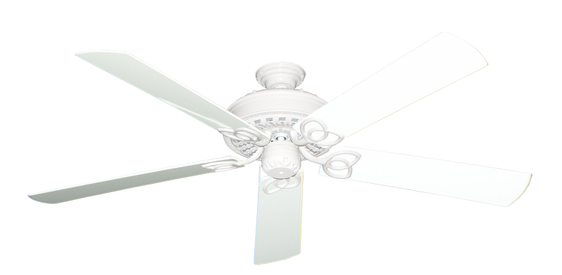 """Picture of Renaissance Pure White with 60"""" Outdoor Pure White Blades"""