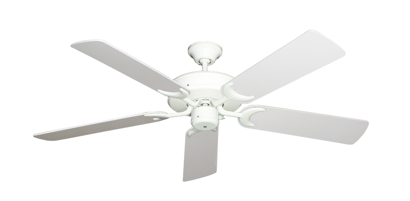 """Picture of Patio Fan Pure White with 52"""" Pure White Blades"""