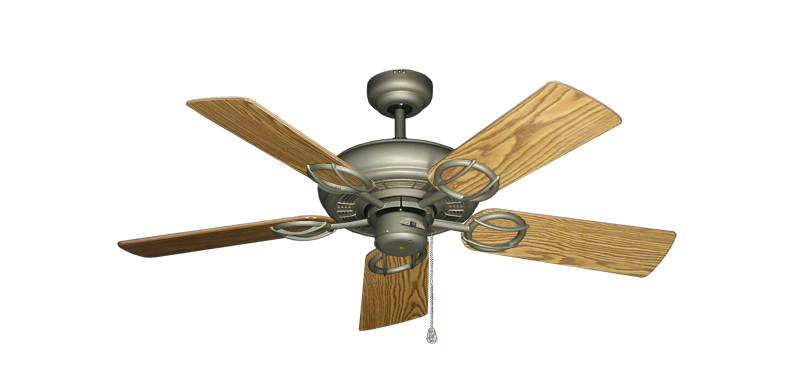 """Picture of Trinidad Antique Bronze with 44"""" Oak Gloss Blades"""