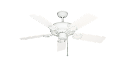 """Trinidad Pure White with 44"""" Outdoor Pure White Blades"""