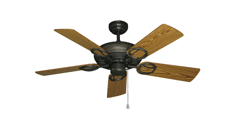 "Picture of Trinidad Oil Rubbed Bronze with 44"" Oak Blades"