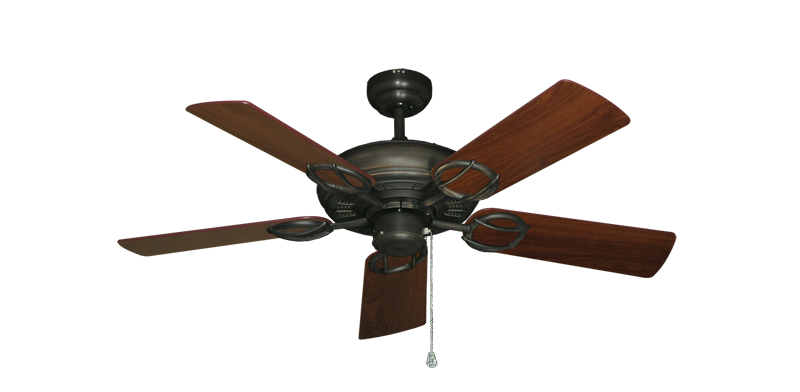 """Picture of Trinidad Oil Rubbed Bronze with 44"""" Walnut Blades"""