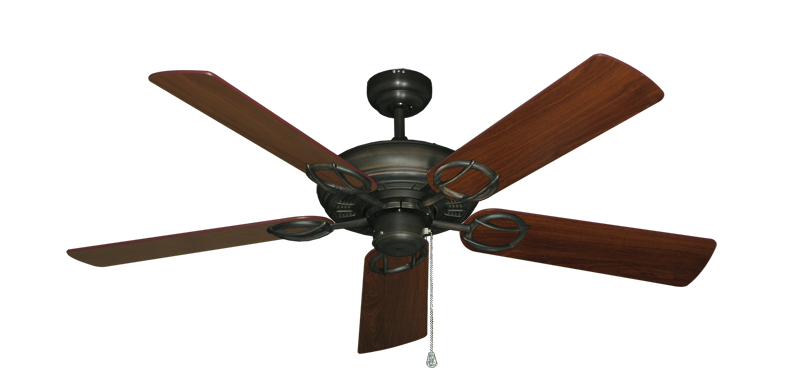 "Picture of Trinidad Oil Rubbed Bronze with 52"" Walnut Blades"
