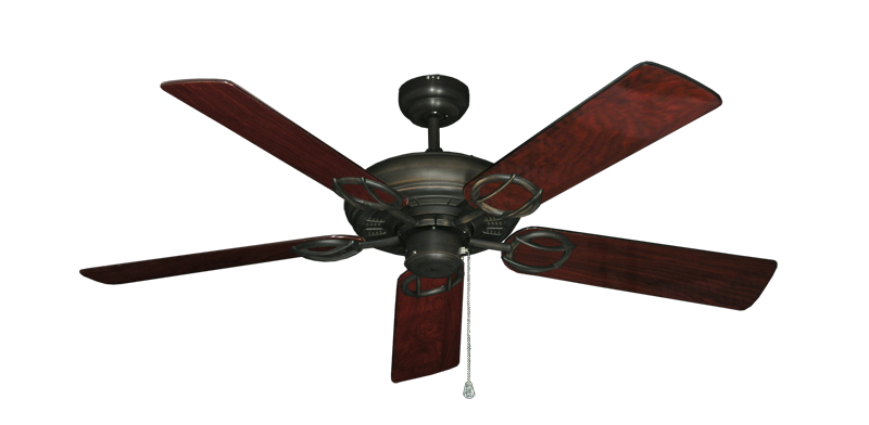 """Picture of Trinidad Oil Rubbed Bronze with 52"""" Cherrywood Gloss Blades"""