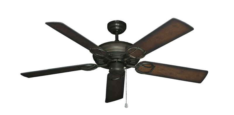 """Picture of Trinidad Oil Rubbed Bronze with 52"""" Distressed Hickory Blades"""