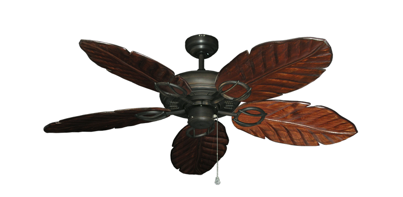"""Picture of Trinidad Oil Rubbed Bronze with 52"""" Series 125 Arbor Cherrywood Blades"""