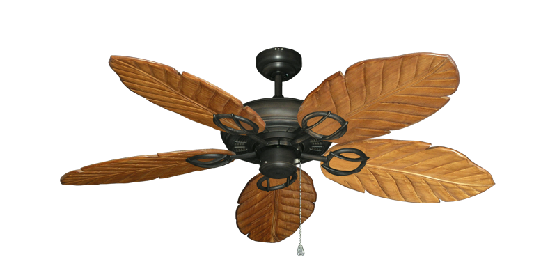 "Picture of Trinidad Oil Rubbed Bronze with 52"" Series 125 Arbor Oak Blades"