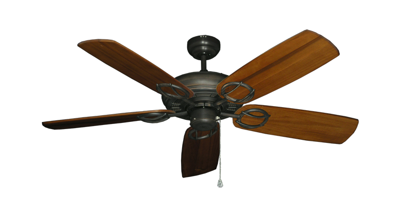 """Picture of Trinidad Oil Rubbed Bronze with 52"""" Series 425 Arbor Oak Blades"""