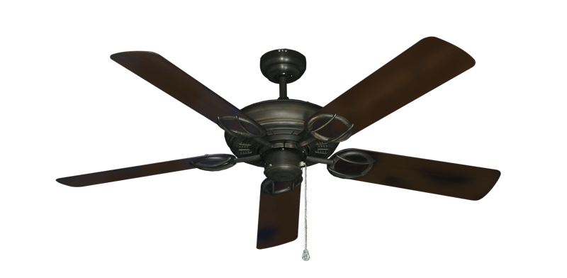 """Picture of Trinidad Oil Rubbed Bronze with 52"""" Outdoor Oil Rubbed Bronze Blades"""