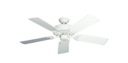 "Picture of Bermuda Breeze V Pure White with 44"" Pure White Gloss Blades"