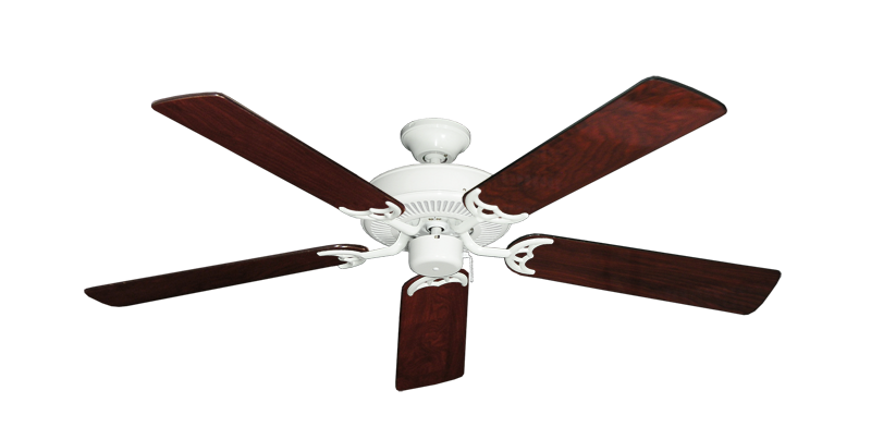 """Picture of Bermuda Breeze V Pure White with 52"""" Cherrywood Gloss Blades"""