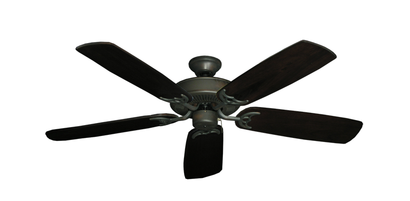"Picture of Bermuda Breeze V Oil Rubbed Bronze with 52"" Series 425 Arbor Dark Walnut Blades"