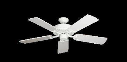 """Picture of Bimini Breeze V Pure White with 44"""" Pure White Blades"""