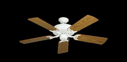 """Picture of Bimini Breeze V Pure White with 44"""" Oak Blades"""